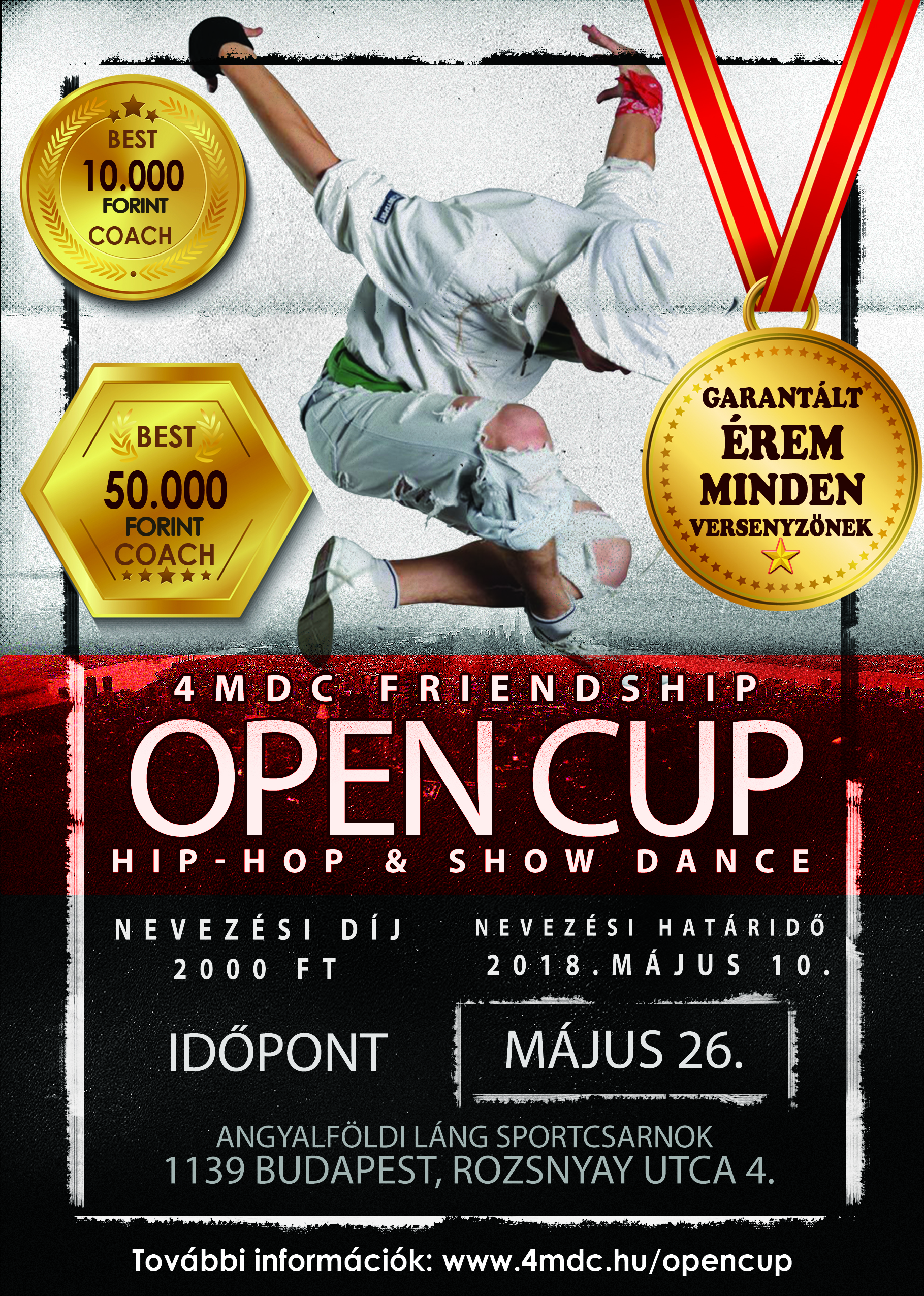 4MDC Frienship OPEN CUP